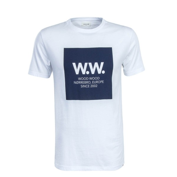 Kurzarmshirt WW Square White