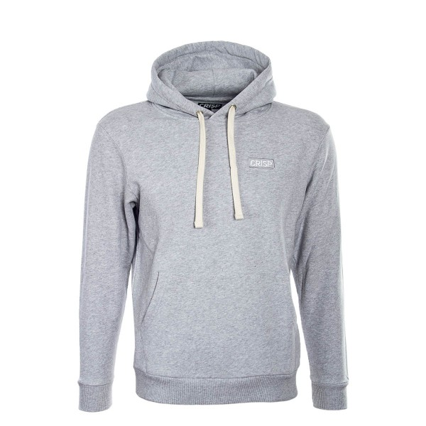 Crisp Hoody Embroidery Grey