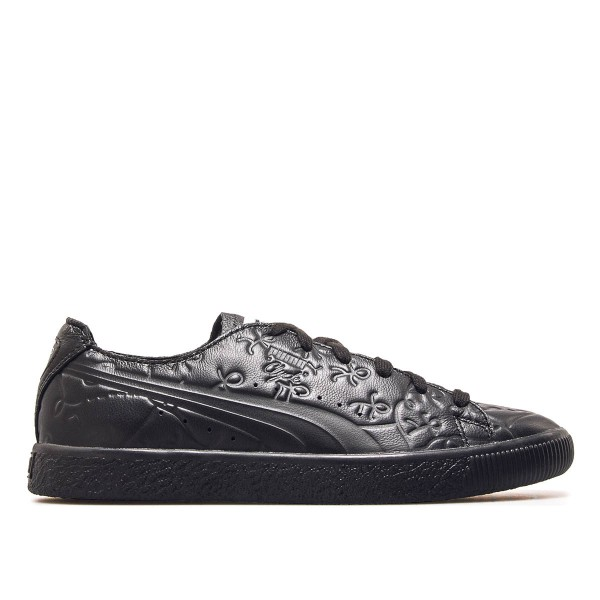 Puma Wmn Clyde Raw SM Black