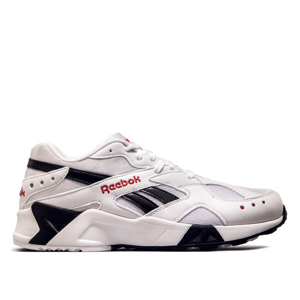 Reebok Aztrek White Black Excellent Red