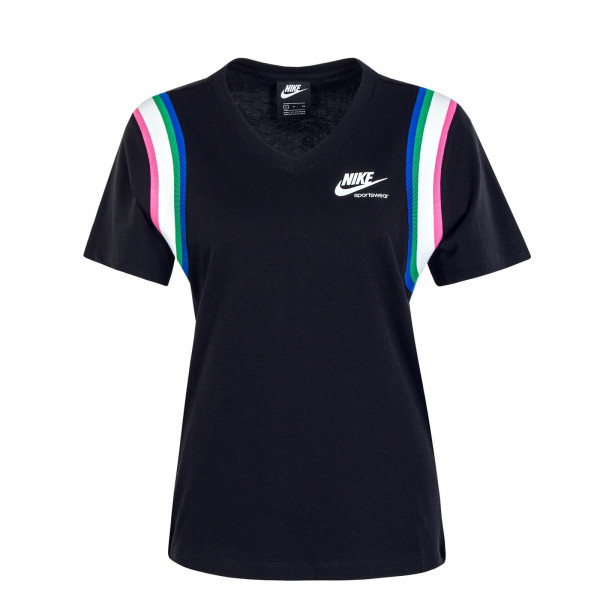 Damen T-Shirt NSW Heritage Top Black Pink Blue Green