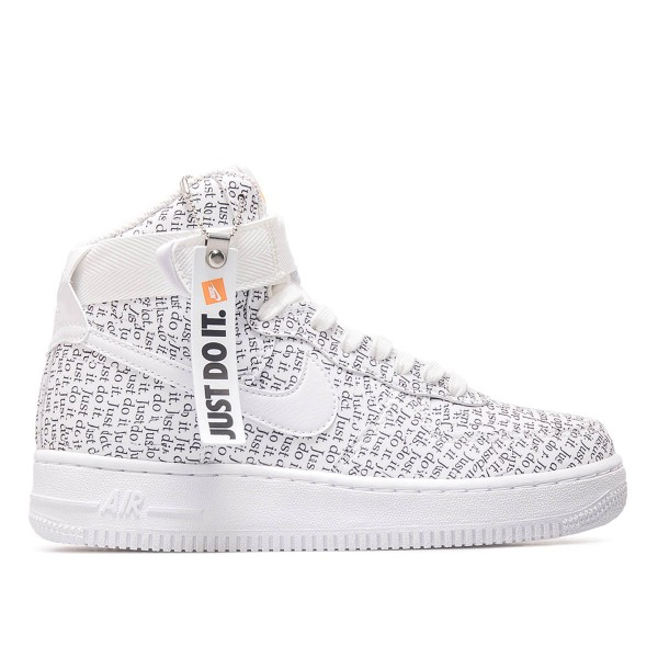 Nike Wmn Air Force 1 HI LX White Black