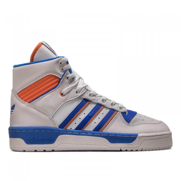 Adidas Rivalry White Blue Orange