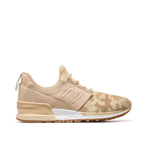 New Balance MS 574 DCB Beige Brown Camo