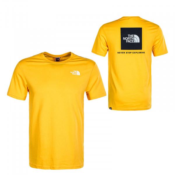 Herren T-Shirt Red Box Tee Summit Gold Black