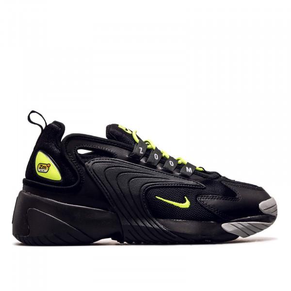 Herren Sneaker Zoom 2 K Black Neon Grey