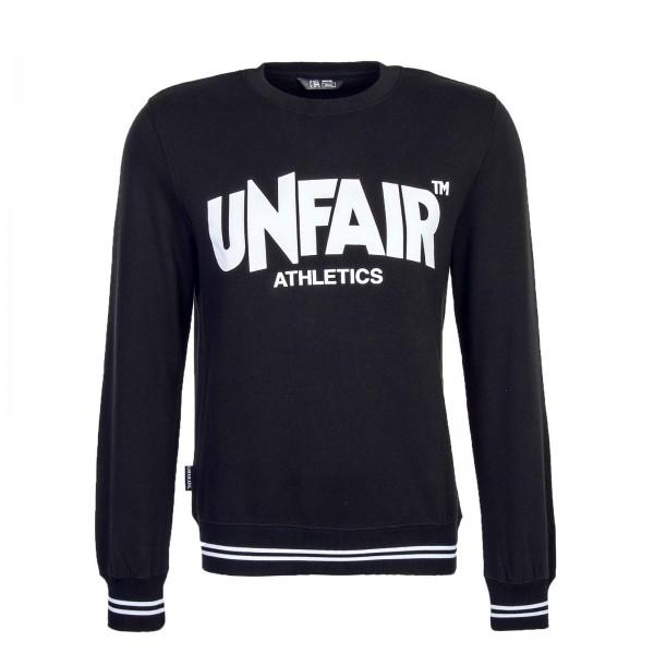 Unfair Sweat Classic LabelCrewneck Black
