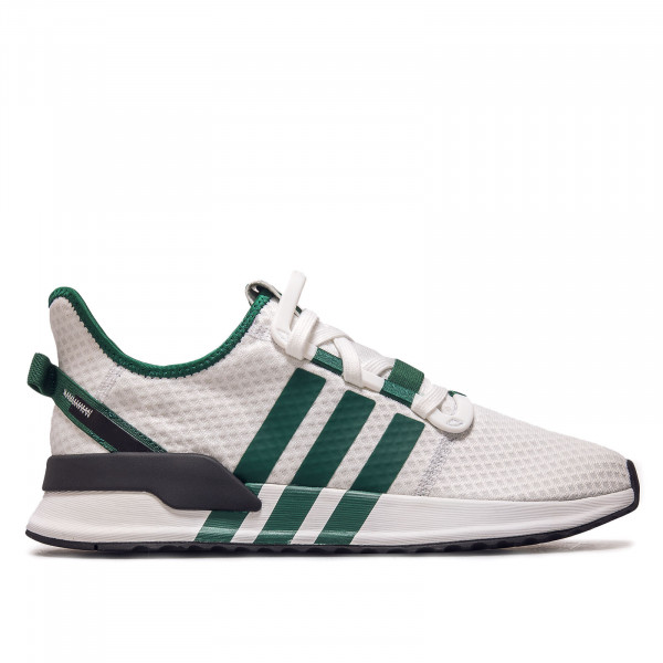 Herren Sneaker - U_Path Run Crystal  - White / Green / Black