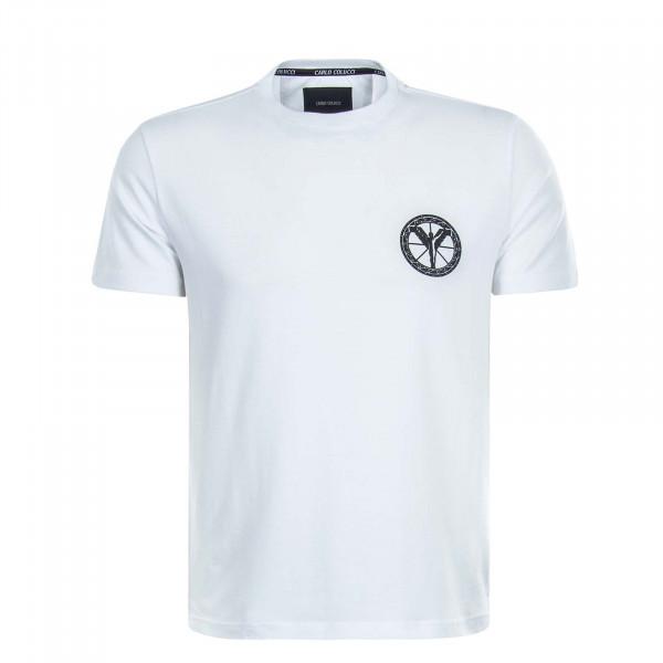 Herren T-Shirt C2416 White Black