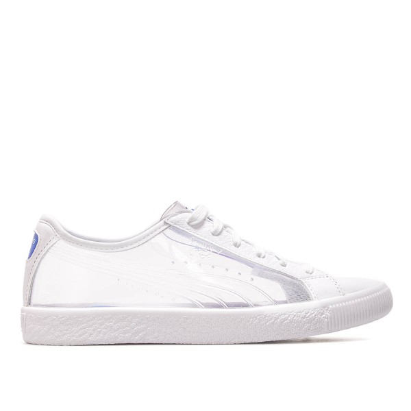 Puma Wmn Clyde Clear SM White