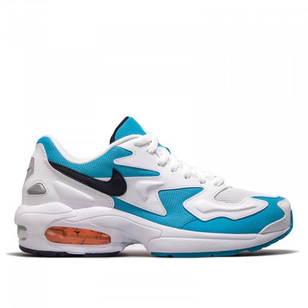 premium selection 0eb19 c85af Nike Air Max 2 Light White Blue Black