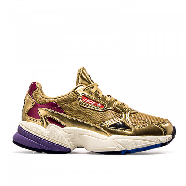 Adidas Wmn Falcon Metall Gold Purple