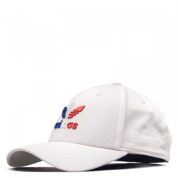 Cap Baseball Classic Trefoil White Royal