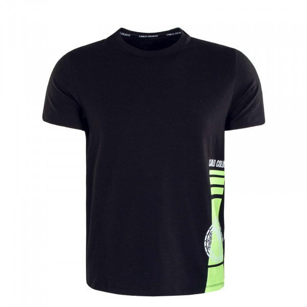 Herren T-Shirt C2334 201 Black White Neon