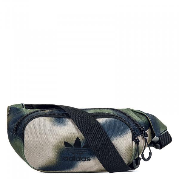 Hip Bag - Camouflage Waistbag - Hemp Wilpin Black