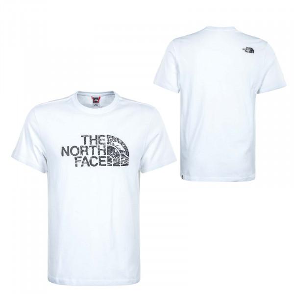 Herren T-Shirt - Wood Dome - White / Black