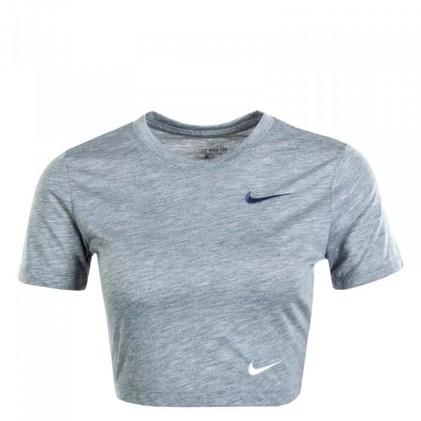 Damen T-Shirt  NSW Slim Crop LBR Grey