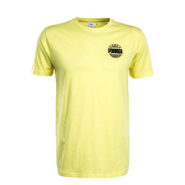 Puma TS X Diamond Logo Yellow