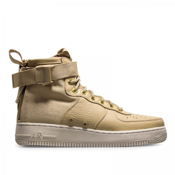 Nike SF AF1 Mid Lt Bone