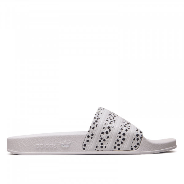 Damen Adilette - Black / White