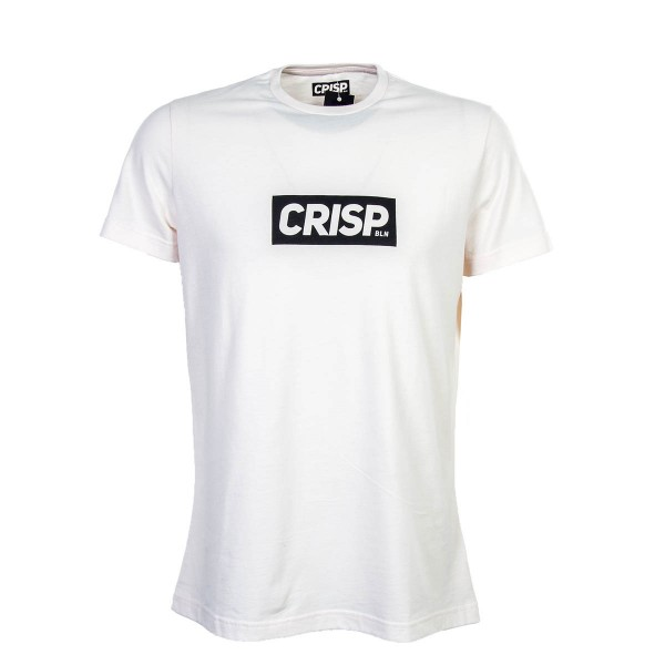 Crisp TS Big Print Peach Black
