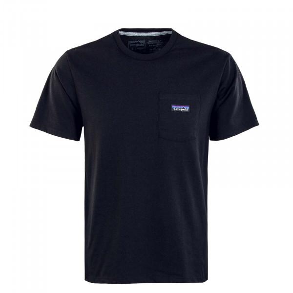 Herren T-Shit - Label Pocket Responsibili - Black