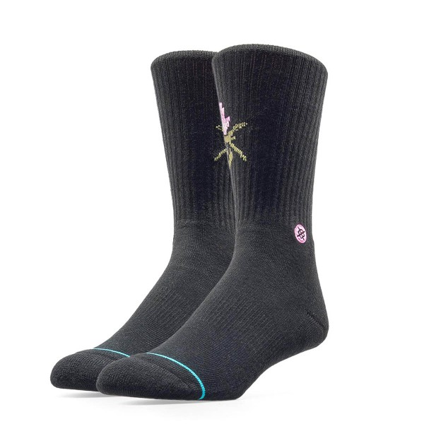 Stance Socks Bachelor Black