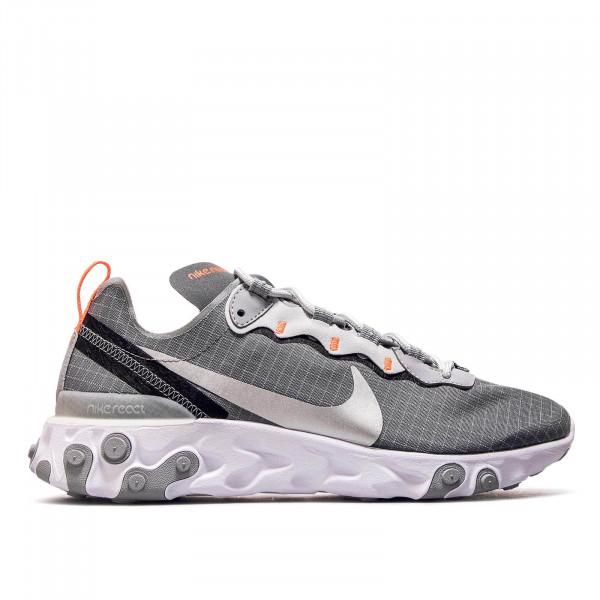 Nike React Element 55 Grey Silver