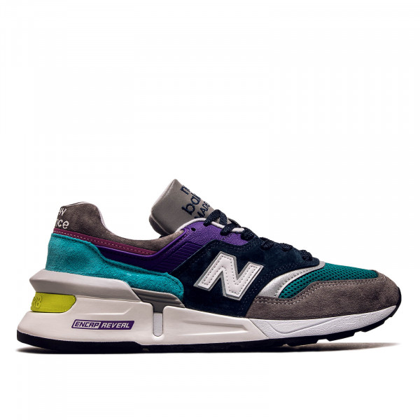 Herren Sneaker M997 SMG Grey Navy Purple Mint