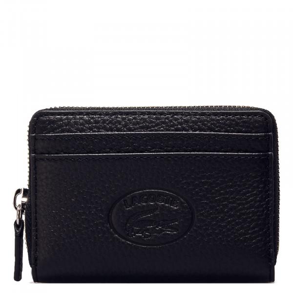 Geldbörse - Zip Coin Wallet XS - Black