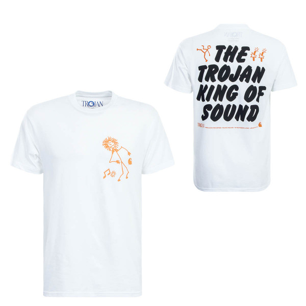 Carhartt TS Trojan King of Sound White