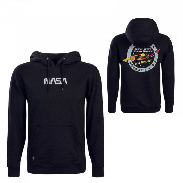 Vans X Nasa Hoody Black White