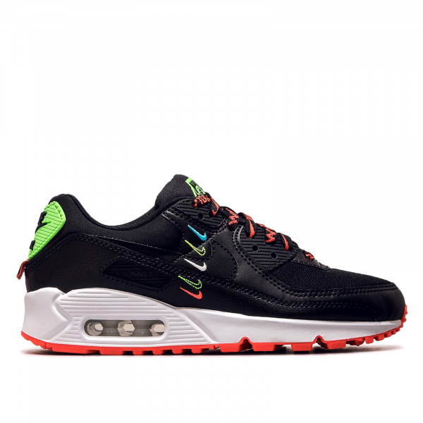 Damen Sneaker Air Max 90 WW Black Flash Crimson