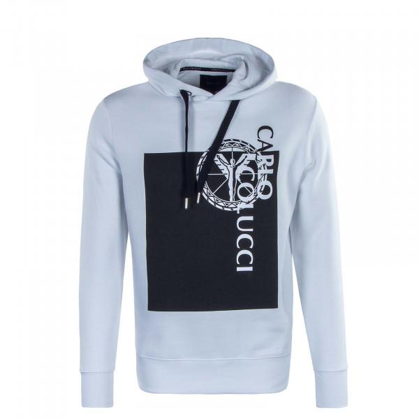 Herren Hoody - C4219 - White Black