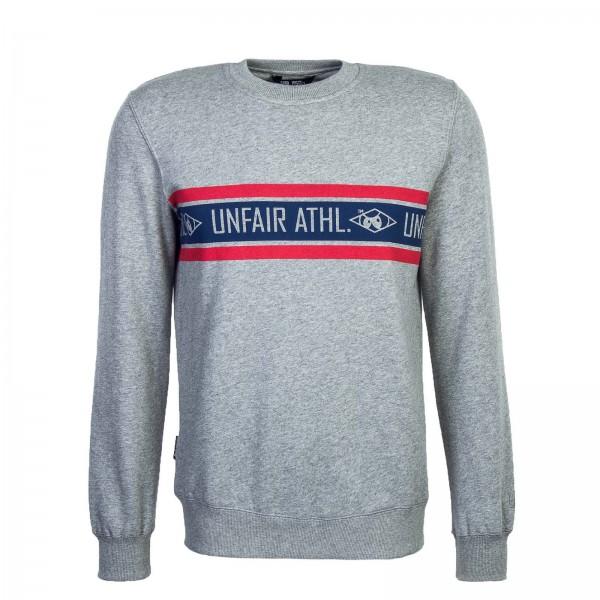 Unfair Sweat Athl.Stripes Crewneck Grey