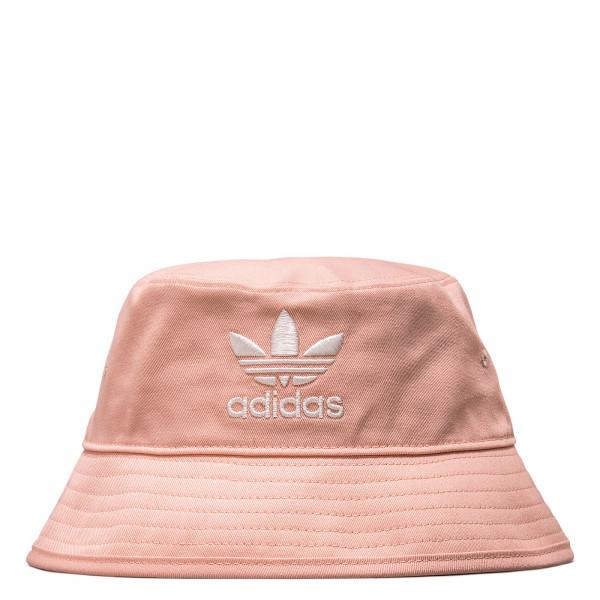 Bucket Hat -  Pink / White