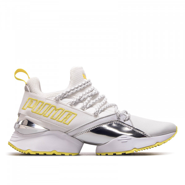 Puma Wmn Muse Maia White Metall Yellow