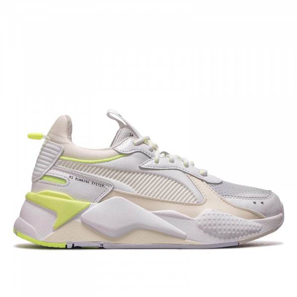 Puma Damen Sneaker RS X Tracks White Yellow