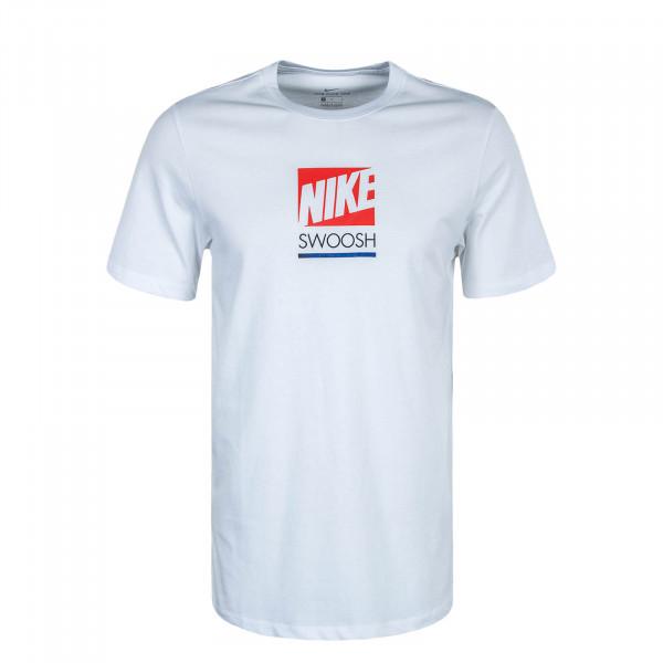 Herren T-Shirt Multi Color CW0474 White