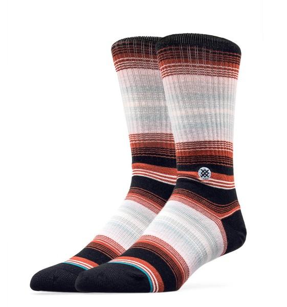 Stance Socks Sidestep Four Do. Black Red