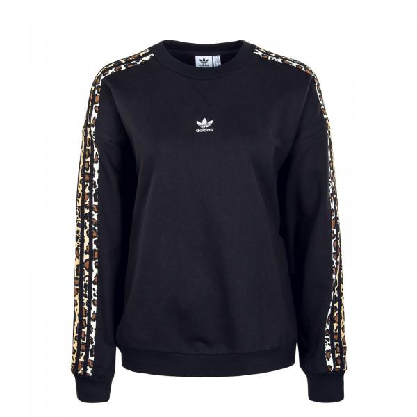 Damen Sweatshirt - Crewneck - Black