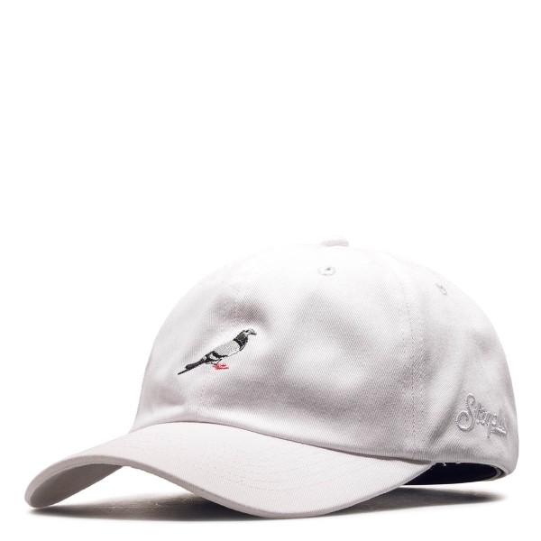Staple Cap Pigeon Dad White