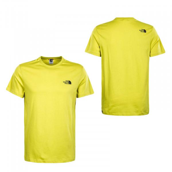 Herren T-Shirt - Simple Dome - Citrunelle / Green