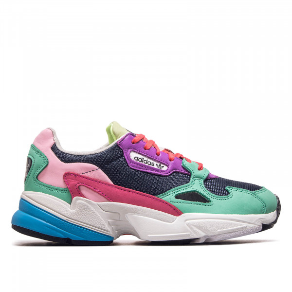Damen Sneaker Falcon Navy Green Pink