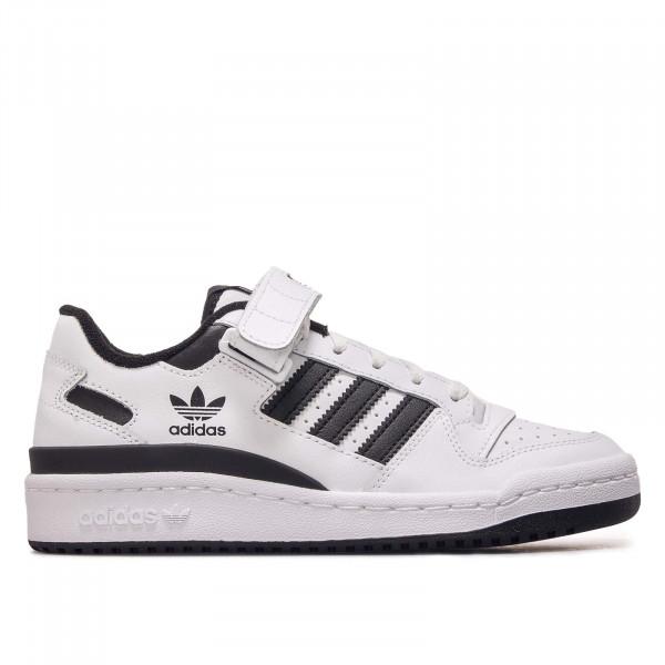 Unisex Sneaker - Forum LOW FY7757 - White / White / Black