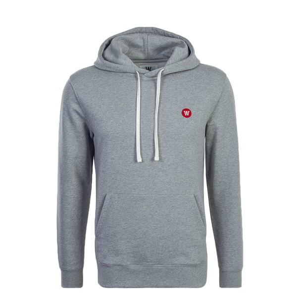 Wood Wood Hoody Ian Grey