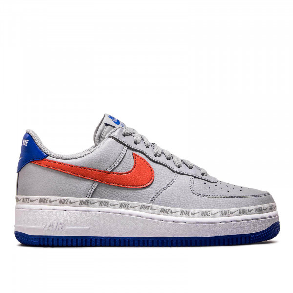 Nike Air Force 1 '07 LV8 Wolf Grey Red
