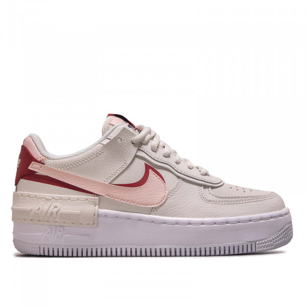 Damen Sneaker AF1 Shadow Beige Pink Gym Red