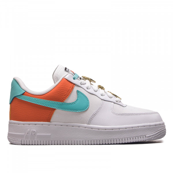 Damen Sneaker Air Force 1 07 White Aqua