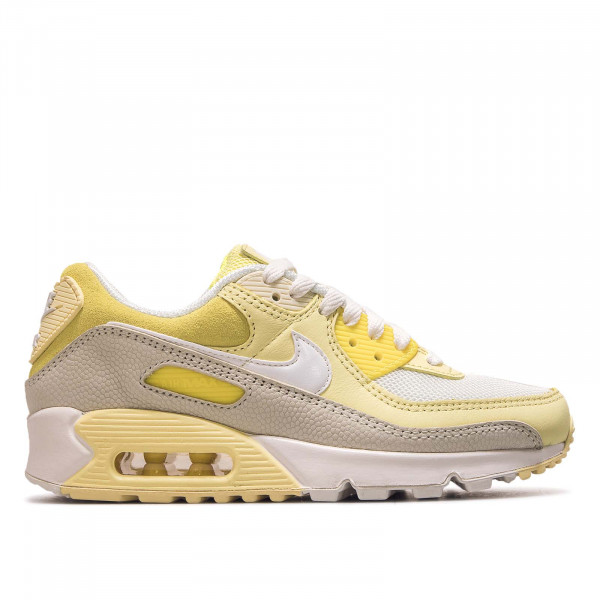 Damen Sneaker Air Max 90 Opti Yellow White Fossil